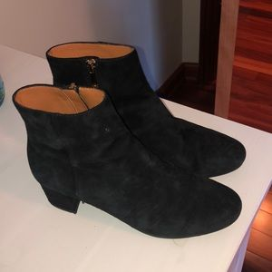 & Other Stories Black Bootie Heels Womens Size 38